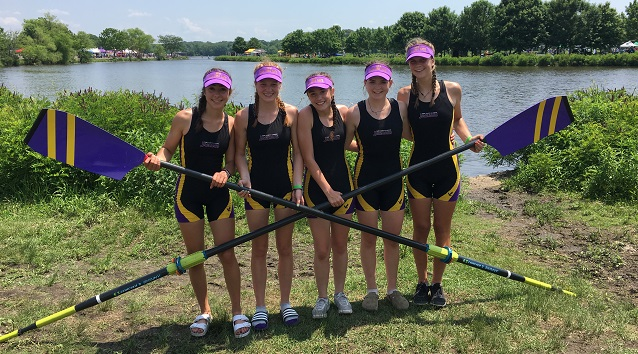 Crew Finishes 5th and 10th at National Championship Regatta