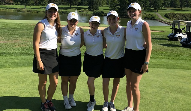 SJA Golf Finishes 4th at NCL Tournament