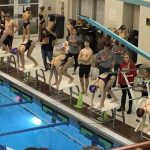 Swimming and Diving Have Strong Showing Against Brecksville-Broadview Heights