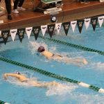 SJA Swimming and Diving Competes Well Against Magnificat