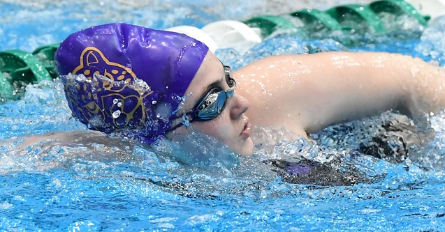 Swimming and Diving Finishes Fourth at Perry Invitational
