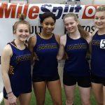 Indoor Track Takes First In Week 3 Meet