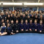 Gymnastics Compete in Catholic Cup