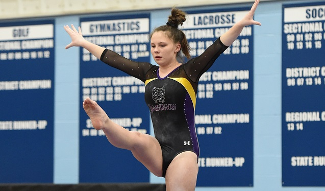 Gymnastics Team Competes at Sectional Meet