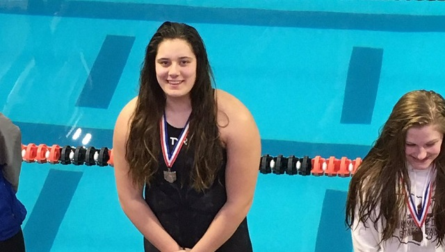 Swimming Has Best District Showing; Kelly Heads To State For 3rd Time