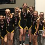Crew Competes at Titan Indoor Rowing Championship