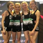 4×800 Relay Competes at Indoor National Meet