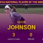 Maya Johnson Named NFCA National HS Player of the Week