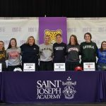 11 Seniors Recognized at College Signing Ceremony