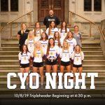 Volleyball CYO Night – October 8