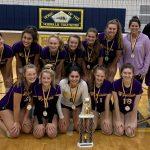JV Volleyball Captures Norwalk Tournament Title