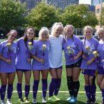 Varsity Soccer Honors Seniors