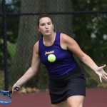 Varsity tennis ties school record with 16th win
