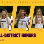 Micheli Named First-Team All-District; Barrett, Bartell Also Honored