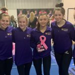 Gymnastics Finishes 2nd at Flip For The Cure