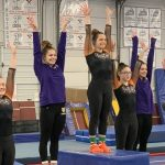 Girls Varsity Gymnastics finishes 3rd place at North Olmsted