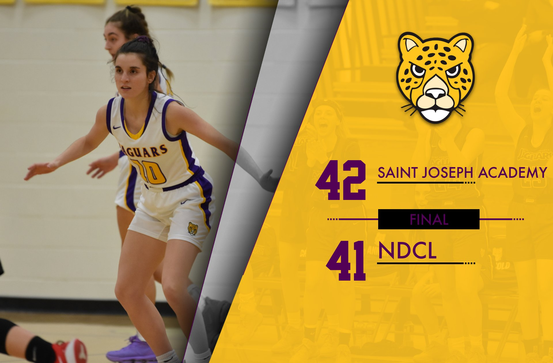 Jaguars Move To 4-1 in NCL Play With Road Win at NDCL