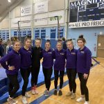 Gymnastics finishes 2nd place at Magnificat