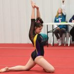 Gymnastics finishes 5th place at Ron Ganim Legends Invite