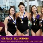 Jaguars Finish 4th at Final NCL Swim Meet