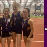 Indoor Track and Field Competes at State; 4×800 Sets School Record and Advances to Nationals