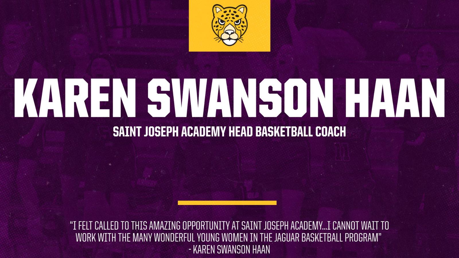 Karen Swanson Haan Named Head Basketball Coach