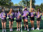 Girls Varsity Tennis beats Bay 5 – 0
