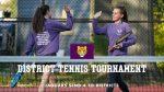 Tennis District Information