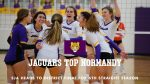 Volleyball Advances To 6th Straight District Final; Tops Normandy in Three Sets