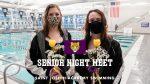 Swimming Recognizes Seniors at Gilmour Dual Meet