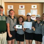 Laurens District 55 High School Girls Varsity Golf finishes 3rd place