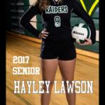 Senior Profile: Hayley Lawson #9