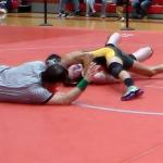 Laurens District 55 High School Boys Varsity Wrestling falls to Blue Ridge High School 42-36