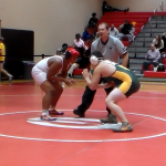Laurens District 55 High School Boys Varsity Wrestling beat Greenville Sr High School 48-30