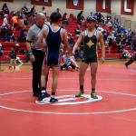 Laurens District 55 High School Boys Varsity Wrestling falls to West Oak High School 60-6