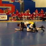Laurens District 55 High School Boys Varsity Wrestling beat Riverside High School 50-24