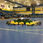 Laurens District 55 High School Boys Varsity Wrestling falls to Woodmont High School 42-33