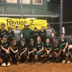 Laurens District 55 High School Varsity Softball defeats Wade Hampton High School 13-3