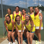 Laurens District 55 High School Girls Varsity Tennis falls to Greenwood High School 5-2
