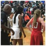 Laurens District 55 High School Girls Varsity Basketball beat Clinton High School 50-36