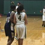 Laurens District 55 High School Girls Junior Varsity Basketball falls to Spartanburg 46-13