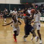 Boys Middle School Basketball beats Sanders Middle School 50 – 41