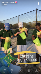 Boys' Tennis Celebrates Senior Night