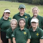 Girls Varsity Golf finishes 1st place at Easley