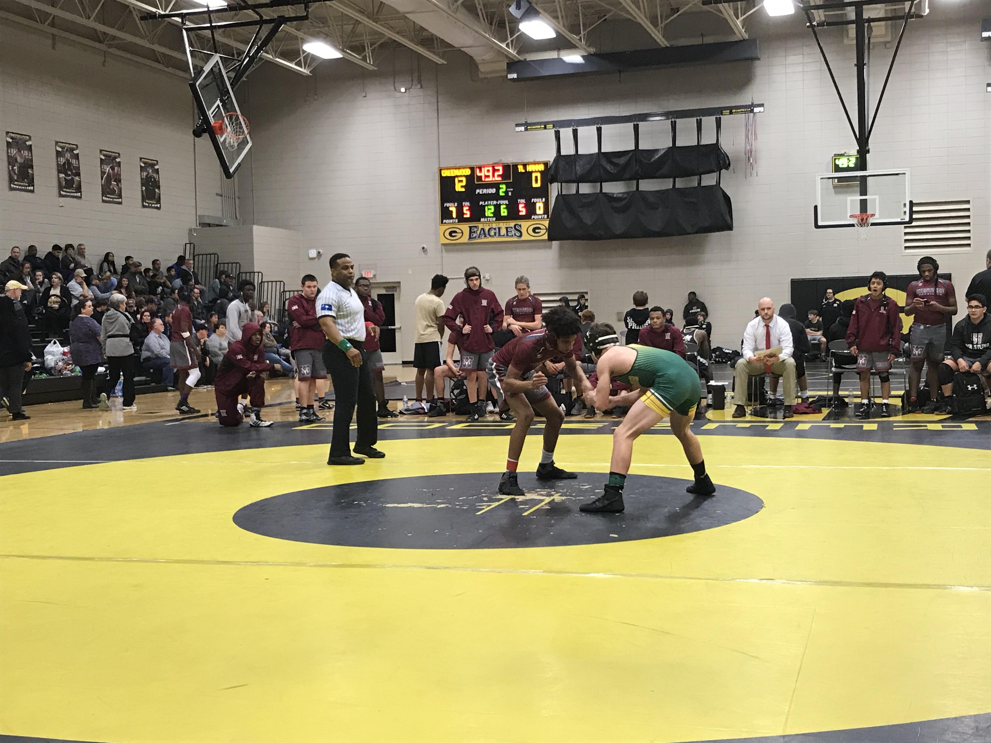 Raider Wrestling Wins 2 Region Matches