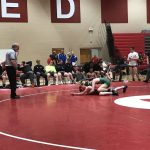 LDHS Wrestling Defeats Blue Ridge in 4th Round of the Greenville Red Raider Duals