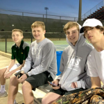 Boys Varsity Tennis falls to J L Mann 7 – 0