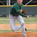 Boys Varsity Baseball beats Greenwood 2 – 1 behind a great pitching performance from Nic Robertson