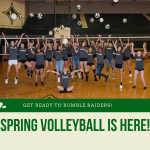 Spring volleyball is here!