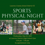 LDHS to Host Sports Physical Night